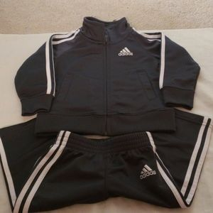 Adidas Dark Gray Track Suit